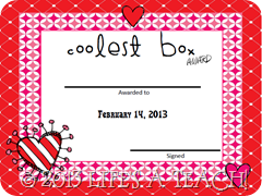 Vday Certificate