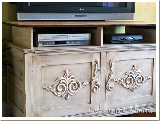 wooden entertainment unit after 016a