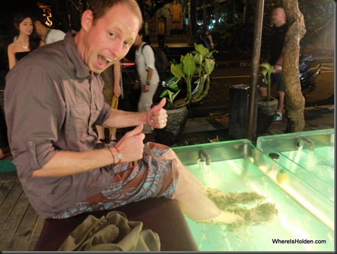 Whereisholden fish pedicure for Fish eating dead skin pedicure