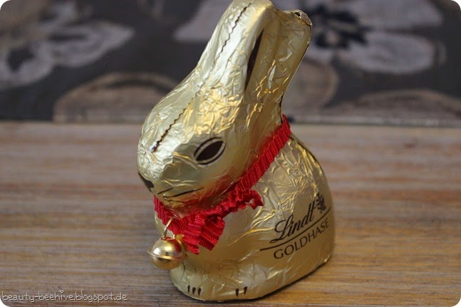 Frohe Ostern Lindt Osterhase klein