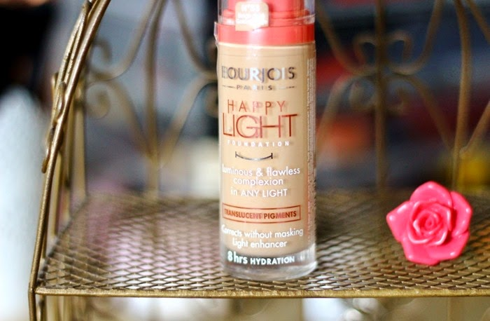 Bourjois Happy Light Foundation in 53 Golden Beige review and swatch
