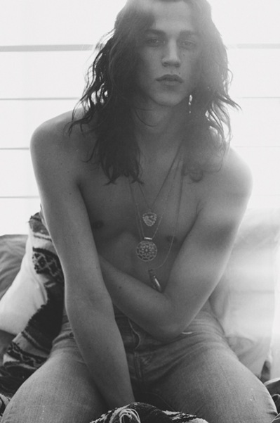 Miles McMillan @ DNA by Casey Brooks, 2011.  Outtakes from FIASCO mag.