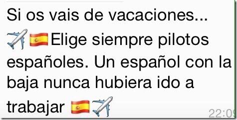 piloto español