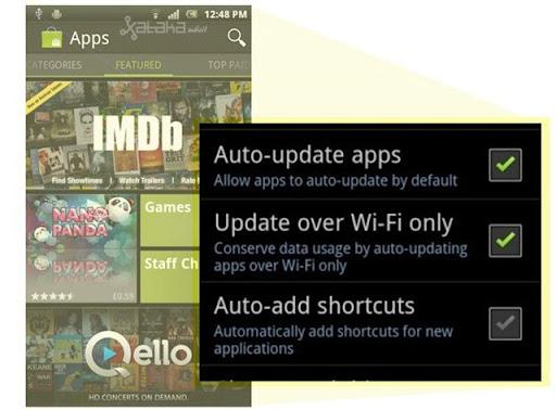 Android automáticas