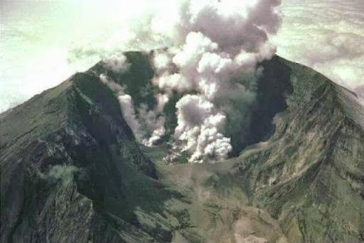 Erupción volcánica del Monte Tambora