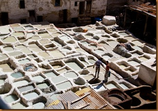 Fes, lime pits