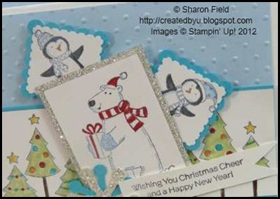 view two challenge card featuring pool party stamp set
