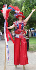 Patriotic on Stilts