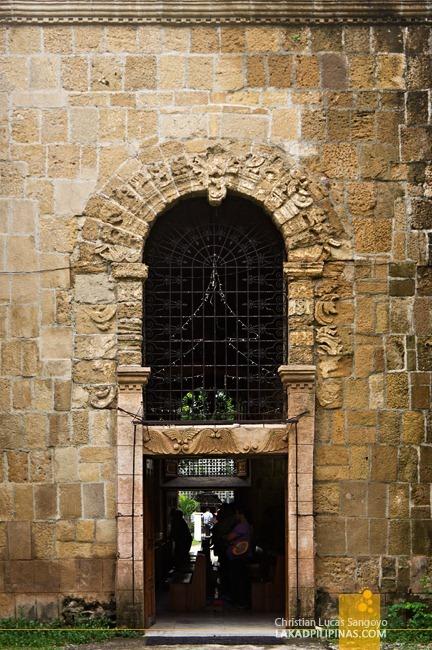 Ornate Side Entrance to Miag-Ao Church