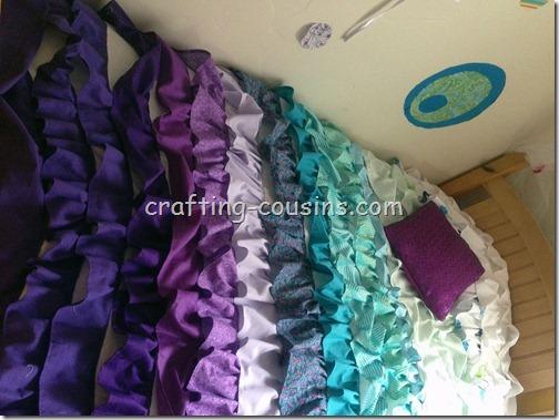 Ruffle Bedspread (2)