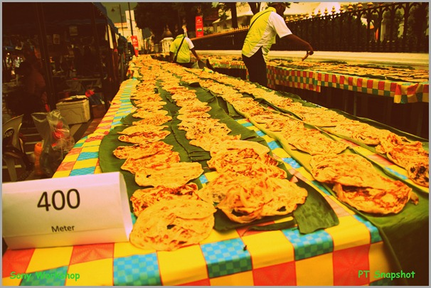 最长的印度煎饼
