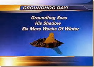 groundhog day shadow