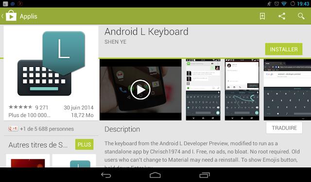 Mettez un peu d'Android L dans votre appareil, A Unix Mind In A Windows World