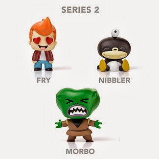 Futurama Tineez Series 2 via ThinkGeek