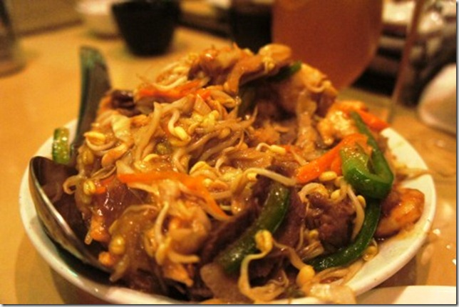 Pan fried noodles