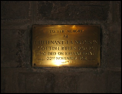 British Plaque I