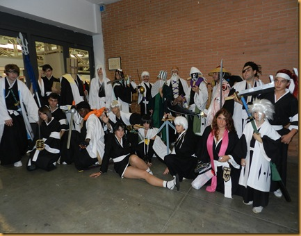 Cosplay grupal bleach