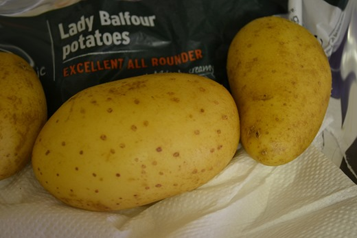 Lady Balfour potatoes