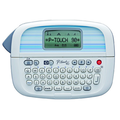 You can keep everything from file folders to lunch box containers organized with this stylish label maker. Brother P-Touch PT-90 Personal Label Maker, $14.99, staples.com [photo courtesy of Staples]