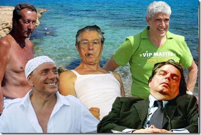 I politici vanno in vacanza