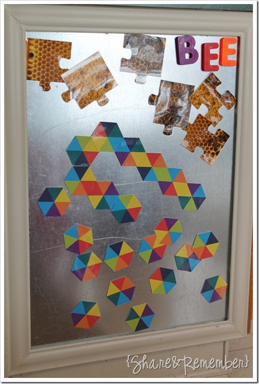 hexagon magnet shapes