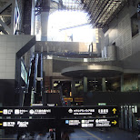 kyoto station in Kyoto, Kyoto, Japan