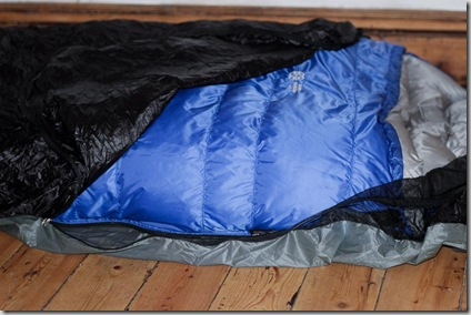 Borah gear bivy unzipped