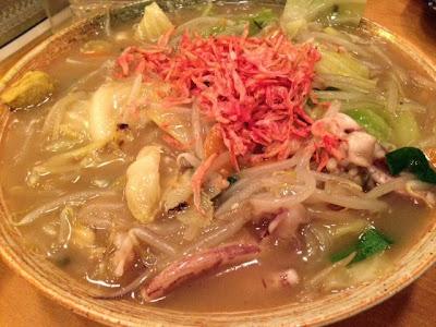 豪快海鮮皿うどん(619円)
