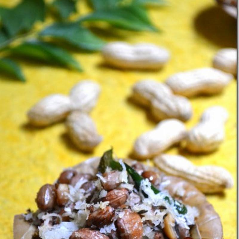 Peanut Sundal | Verkadalai Sundal | Navratri Recipes