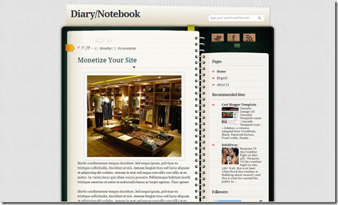 DiaryNotebook
