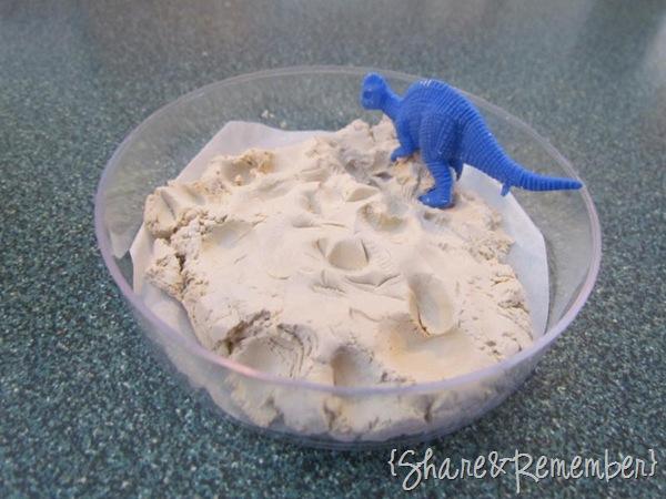 Clay Dinosaur Fossil Prints
