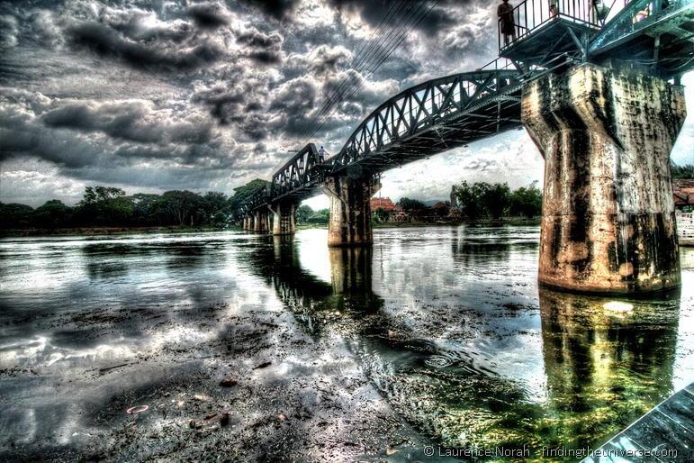 Brücke über den River Kwai, Thailand