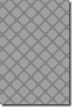 iPhone Wallpaper - Smokey Gray Quatrefoil - Sprik Space