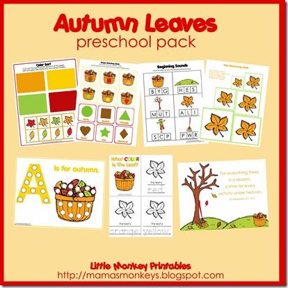 autumn leaves ad
