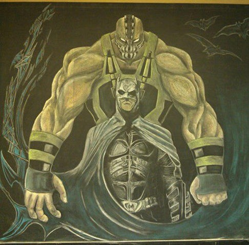 chalkboard-art-batman-bane