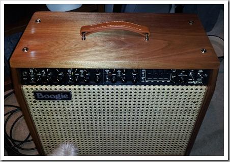 Bob's NEW Mesa Boogie Mark V Combo Amp (001)