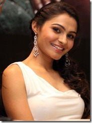 Andrea Jeremiah Latest Hot Pictures at Vishwaroop Mumbai Press Meet