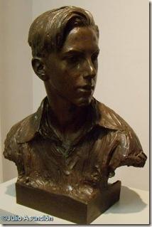 Retrato del hijo del poeta Enrique de Mesa - Mariano Benlliure - Museo de Bellas Artes de Vitoria.