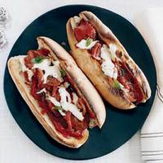 Herbed Turkey Meatball Subs