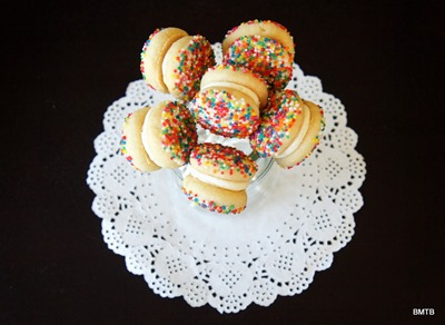 Sprinkle Cookie Pops 2