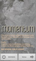 Screenshot of Momentum