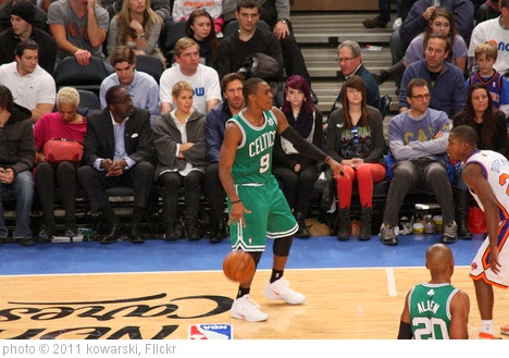 'Taken at the Knicks-Celtics Game on 12/25/11' photo (c) 2011, kowarski - license: https://creativecommons.org/licenses/by/2.0/