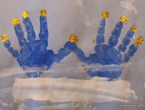 handprintmenorah