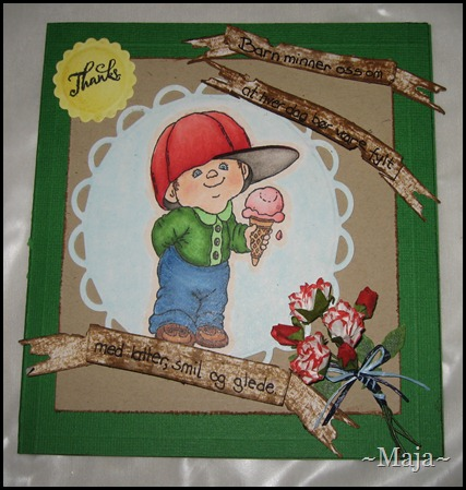2012-06-29 Marianne lager kort og kake til Eikenga barnehage 004