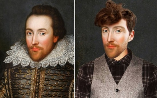 SHAKESPEARE Ð THE HIPSTER PLAYRIGHT<br />William Shakespeare has been magically transported to the 21st Century via a unique art project commissioned by TV channel Yesterday to celebrate its new historical series Secret Life OfÉ. starting on Thursday 2nd May at 9pm. <br />A team of digital artists from the channel spent three months updating a series of classic portraits - working closely with award-winning historian Dr Suzannah Lipscomb to ensure the new artworks accurately reflect how the historical figures might look in 2013<br />Adrian Wills, General Manager of Yesterday commented:<br />ÔSecret Life OfÉ takes a completely new perspective on the lives on some of historyÕs most fascinating and notorious figures. Henry VIII, Elizabeth I, Shakespeare, Marie Antoinette and Nelson are among the iconic personalities whose lifestyles and habits are dissected through the eyes of the contemporary, celebrity-obsessed world.  These great characters are reimagined with a modern take, showing them in a completely different light - much like the new re-versioned portraits.Õ