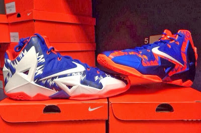 nike lebron 11 pe florida gators 1 03 Nike LeBron 11   Florida Gators   Home & Away PEs