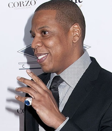 Jay-Z Sapphire Ring