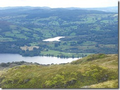 Wansfell Pike--Lake Windermere and (maybe) Blelham Tarn