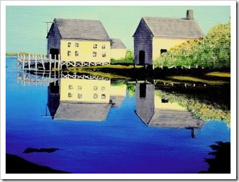 reflections painting