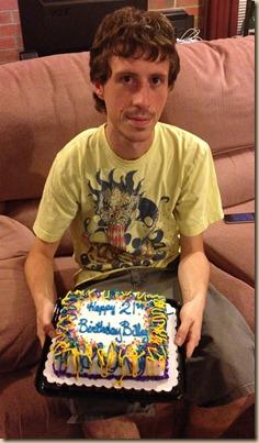 Billy 21 cake